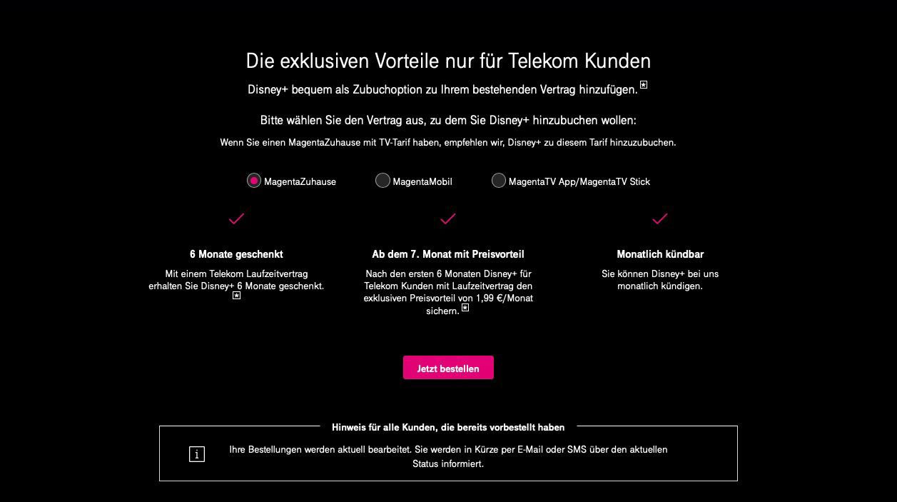 Telekom Disney Plus Kündigen