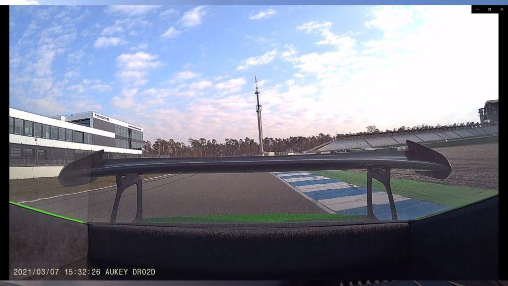 Apeman C550 Dashcam / aukey dashcam trackday nordschleife kamera - footage video 2