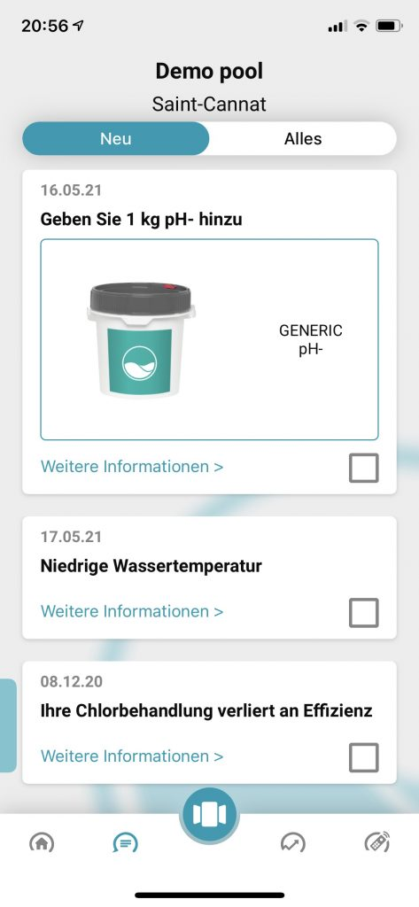 ICO Ondilo Pool Messgerät Anleitung Test
