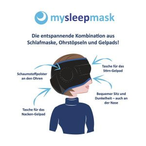 mysleepmask: Schlafmaske gegen Migräne
