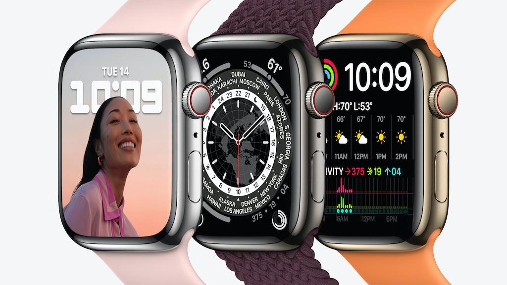 Apple Watch Series 7 Edelstahl