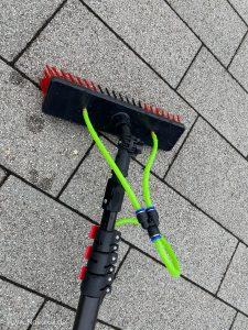 Sprüher für Fassadenreinigung